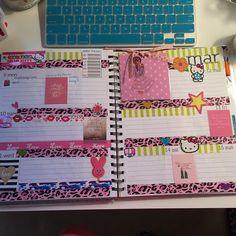 """Planning out my week!! @officialfilofax @shopstudioc @kikkik_loves @erincondren #planner #plannerlife #organized #dramafree #monthlyplanner #weeklyplanner…"""