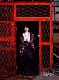 That Works: Luca Gadjus By Serge Leblon For Harper's Bazaar Germany September 2014