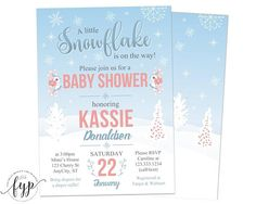 Winter Baby Shower I
