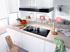 Miele inductie kookplaat met flexibele kookzones