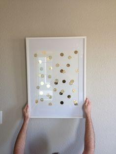gold dot art