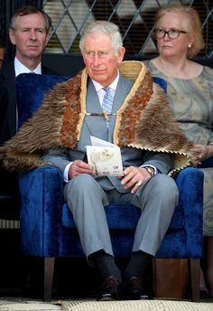 Thanking the community for their hospitality Prince Charles began his speech in Maori before switching to English