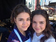Maia Mitchell and Bailee Madison (Callie & Sophia) #TheFosters