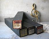 4 Antique Player Piano Rolls Music 1920s Star Dust, Fox Trot, Irving Berlin