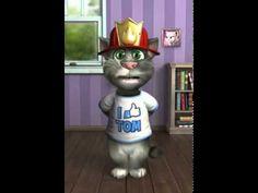 oración del gato Tom