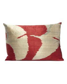 Yastik by Rifat Ozbek Ikat cushion