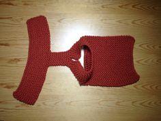 Estructura del jersey para perro tejido en telar