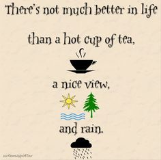 Tea and weather