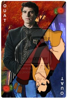 OUAT Card Gaston by jeorje90.deviantart.com on @DeviantArt