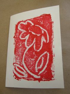 monoprint with foil... didn't tape the edges like that last time.  this would work better.