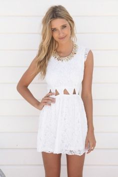 White dresses are my obsession right now