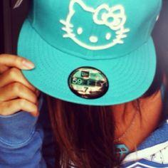 Hello Kitty Blue Hat