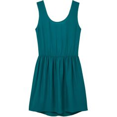MANGO Cut-Out Back Dress (185 SAR) ❤ liked on Polyvore featuring dresses, mango dresses, bow dress, blue cocktail dress, blue dress and elastic waist dress