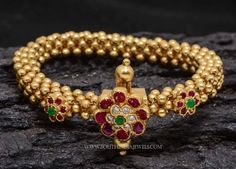 Gold Plated Beads Bracelet, Gold Plated Bracelet Designs from Aatman, Bracelets from Aatman.