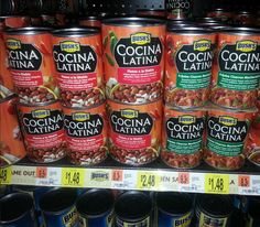 FREE Cocina Latina beans at Walmart!