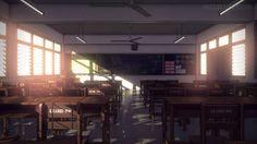 anime class room - Google Search