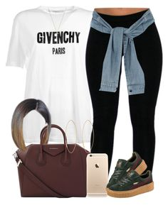 """Givenchy x Givenchy"" by livelifefreelyy ❤ liked on Polyvore featuring Givenchy, Puma, River Island, Gucci and Lana"