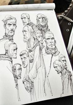 Ian Mcque bunch of Kenobis