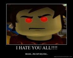 by ChibiCinnamonRoll on DeviantArt Ninjago Kai, Lego Ninjago, I Hate You, Legos, Fire, Deviantart, Fictional Characters, How To Draw, Lego
