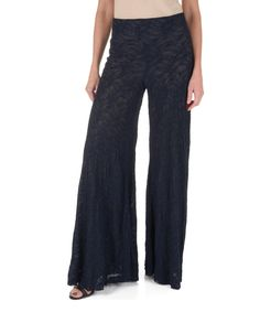 Loving this Navy Lace Palazzo Pants on #zulily! #zulilyfinds