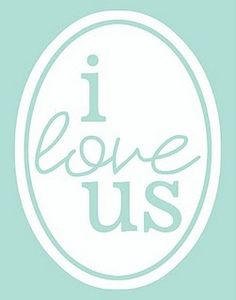 I Love Us free printable in 4 colors (11x14 size)