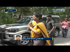 High drama in AP Assembly as YSRCP MLA Roja is stopped despite court ord...