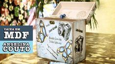 06/11/2014 - Caixa em MDF (Angelina Couto) Dicas:flores de cartolina e como cuidar de se carimbo
