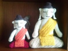 Crochet buddha's