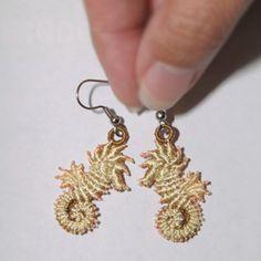 Seahorse Earrings: Sonia Showalter