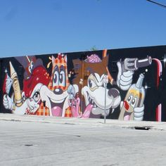 The folks at dabs myla are back in La La Land doing what they do best with this mural filled with awesomeness.