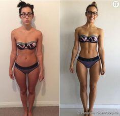 Avant/après de Madalin Frodsham, blogueuse fitness : sauriez-vous deviner ce qu'elle a changé entre les deux photos ?