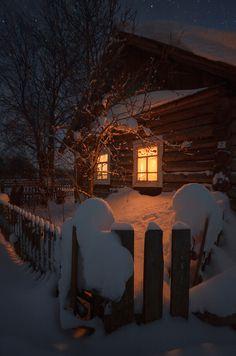 winter, all cozy inside.