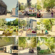 o Porto é... jardim com livros