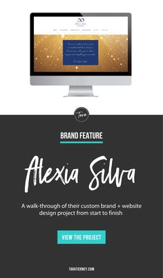 A walkthrough of my branding and website project for Alexia Silva, a Holistic Therapist, Spirit Medium, and Reiki Practitioner. Click through to view the project from start to finish! #branding #brandinspiration #brandinspo #branddesigner #graphicdesign #graphicdesigner #entrepreneur #smallbusiness #brandidentity #gold #blue #holistic #spiritual #reiki Square Business Cards, Business Card Logo, Blue Website, Branding Portfolio, Reiki Practitioner, Brand Board, Online Entrepreneur, Helping People, Design Projects