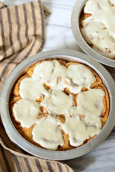 sweet potato & pecan cinnamon rolls | Brooklyn Homemaker #sifted