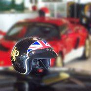 Lotus: Helmets airbrushed by Airbrushartstudio