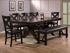 Dark Brown Dining Room Table Fresh Crown Mark Havana Rectangular Dining Table with Storage Dining Room Sets, Dining Room Furniture, Dining Room Table, Dining Area, Furniture Design, Dining Chairs, Kitchen Tables, Space Furniture, Fine Dining
