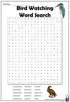 Free Word Search, Word Search Games, Word Search Puzzles, Free Printable Word Searches, Nature Words, Kids Pages, Crossword Puzzles, Nature Activities, Rainbow Crafts