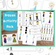 Do you want to.... do this awesome Frozen activity pack?! For just $3.29 get a whole set of adorable Frozen printables to keep you occupied for the rest of summer!