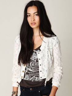 Woven Lace Jacket