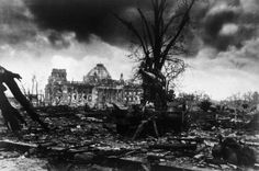 The Reichstag in ruins. May 2nd, 1945 the day Berlin surrendered.