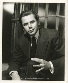 Portrait of Glenn Ford, 1940's