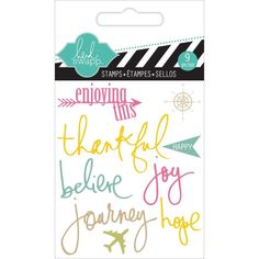 Heidi Swapp JOURNEY Mini Clear Stamp HS01130 zoom image