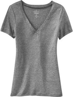 Best V-neck tees ever...perfect length, perfect amount of stretch, CHEAP and they keep their shape really well through lots of washes. I own a ton of these in every color.
