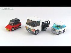 LEGO small vehicle MOCs 9/25/2013 - YouTube