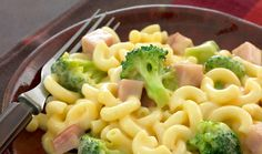 Ham and Broccoli Mac and Cheese.