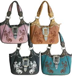 Concealed Carry #CCW #Western #Fashion Handbags  $83.99 + Free Shipping! wantedwardrobe.com  wantedwardrobe.net #WantedWardrobe | Womens #Fashion Boutique | #Shop #Handbags