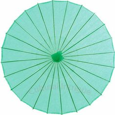 Robin Egg 20 Inch Small Paper Parasol (for children or decorative use)