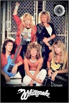 it will grow back, susanne Hair Metal Bands, 80s Hair Bands, Jazz Music, Music Love, Glam Rock Bands, David Coverdale, Heavy Rock, Heavy Metal, Glam Metal