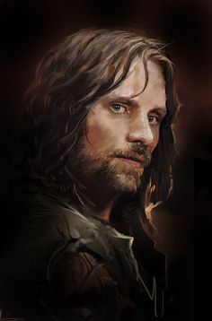 Aragorn, Dave Seguin on ArtStation at https://www.artstation.com/artwork/aragorn